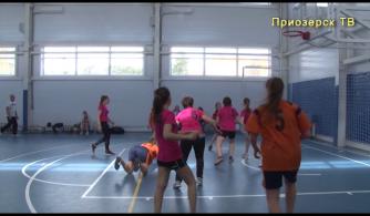 Соревнования по баскетболу среди женщин в зачет 14-й Спартакиады поселений