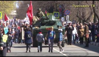 День Победы в Приозерске