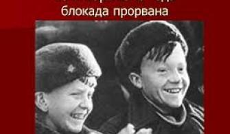 18 января – 75-я годовщина прорыва блокады Ленинграда