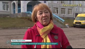 Интервью о сборе макулатуры с И.Афроськиной