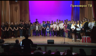 Юбилейная, 25 игра КВН в Приозерском районе, п.Кузнечное