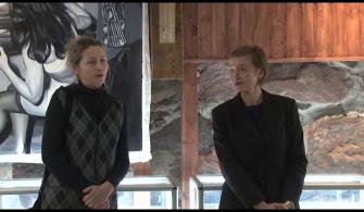 Открытие выставки польской художницы Изабеллы Апананьска