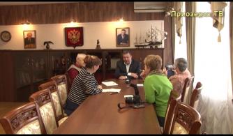 Пресс-конференция с главой районной администрации Александром Соклаковым