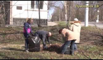Городские субботники в Приозерске