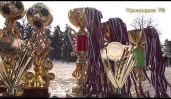 Завершение открытого первенства Приозерского района по мини-футболу на снегу
